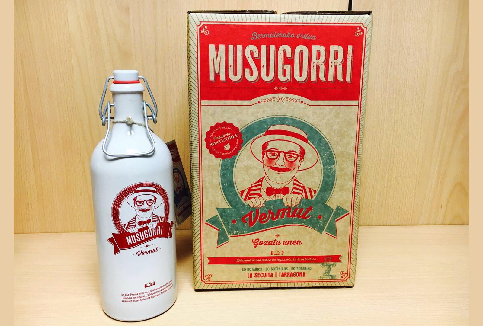 Musugorri el nuevo vermut solidario de Aribau
