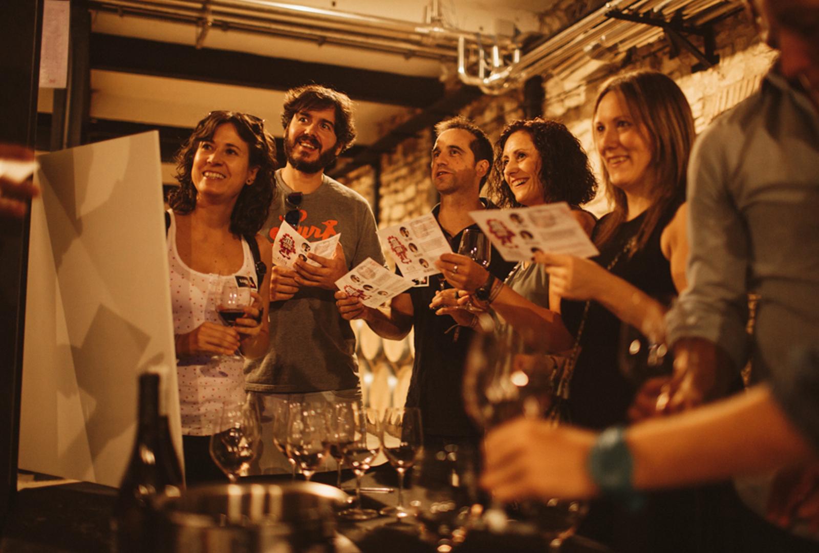 Rioja Bordón y Diamante los vinos que han acogido el MUWI.