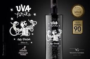 Uva Pirata, obtiene 90 puntos en la Guía Peñin