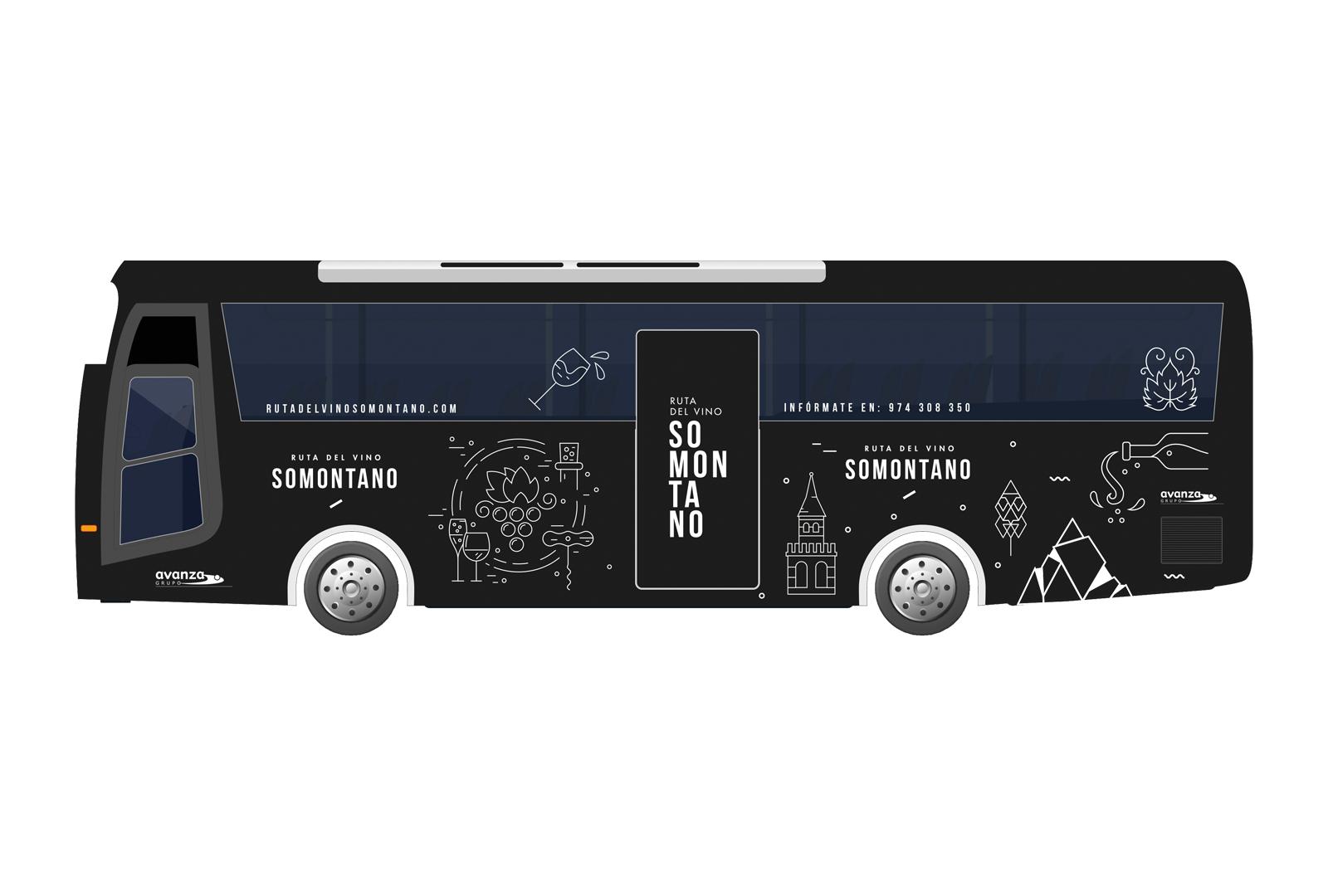 Vuelve el Bus del Vino Somontano con nueve itinerarios únicos