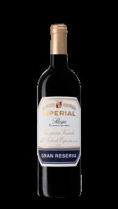 Botella Imperial de Cvne Gran Reserva.