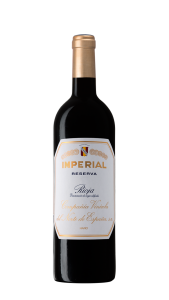 Botella Imperial de Cvne Reserva.