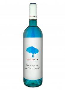 Vino azul Pasion Blue Chardonnay