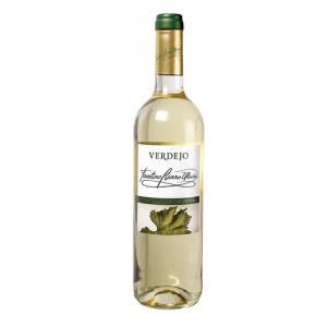 Faustino Rivero. Vino blanco verdejo.
