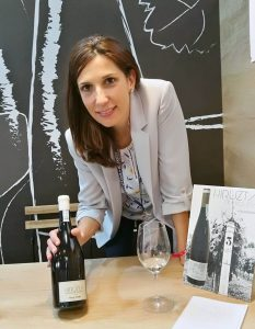 Ana Lluch, Directora de Marketing de la bodega Hiruzta