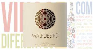 Vino tinto Malpuesto 2015, de Bodegas Orben. DOCa Rioja.