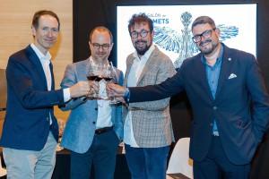 Miquel Torres, director general de Familia Torres y quinta generación; Andreas Kubach MW; Fernando Mora