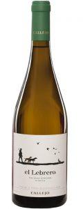Vino blanco El Lebrero 2015.