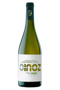 Vino blanco Oinoz Verdejo 2017.