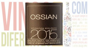 Vino blanco verdejo Ossian 2015.