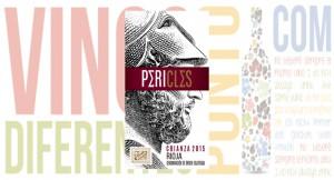 Vino tinto crianza Pericles 2015.
