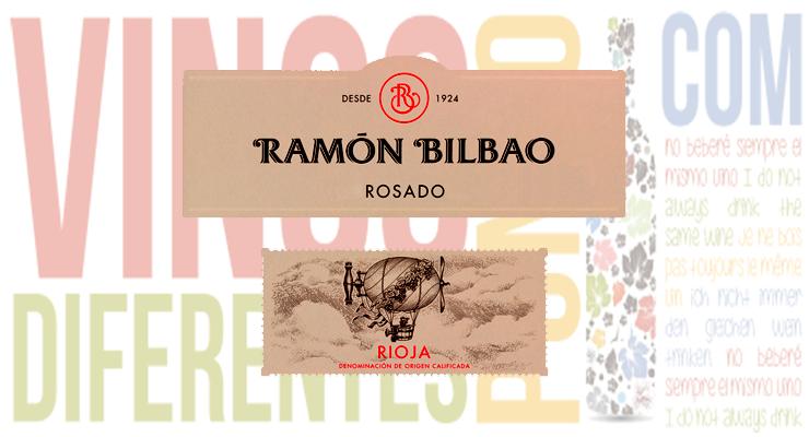 Vino rosado Ramon bilbao