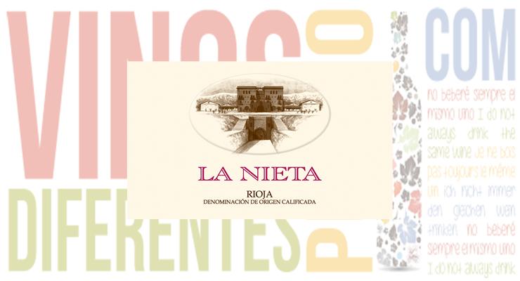 Vino tinto La Nieta 2015.
