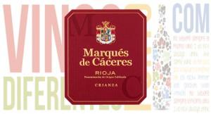 Marqués de Cáceres Crianza 2014.