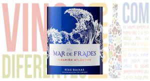 Vino blanco. Mar de Frades 2017
