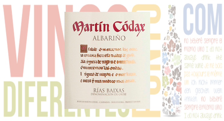vino martin codax 2016