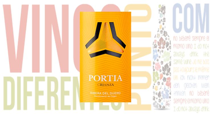 Vino Portia Crianza 2014.