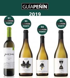 Javier Sanz Viticultor destaca de nuevo en la Guía Peñín.
