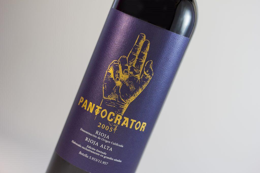 ficha de cata de vino pantocrator 2005 de la bodega riojana, Bodegas Tarón