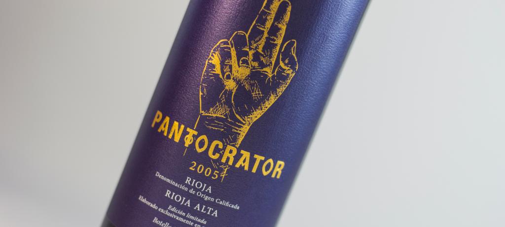 Vino Pantocrator 2005, un gran vino de Bodegas Tarón - VINOS DIFERENTES